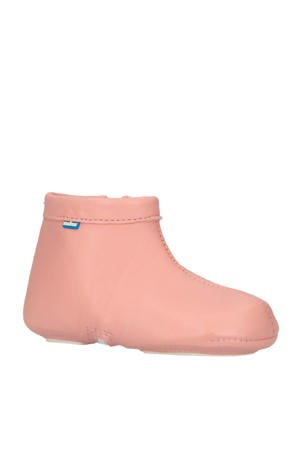 Babyfoot leren babyschoenen roze
