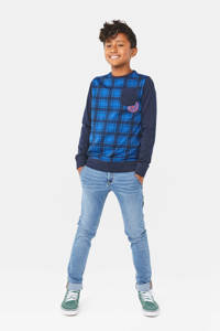 WE Fashion Blue Ridge skinny jeans Alfonso Worker lichtblauw, Lichtblauw