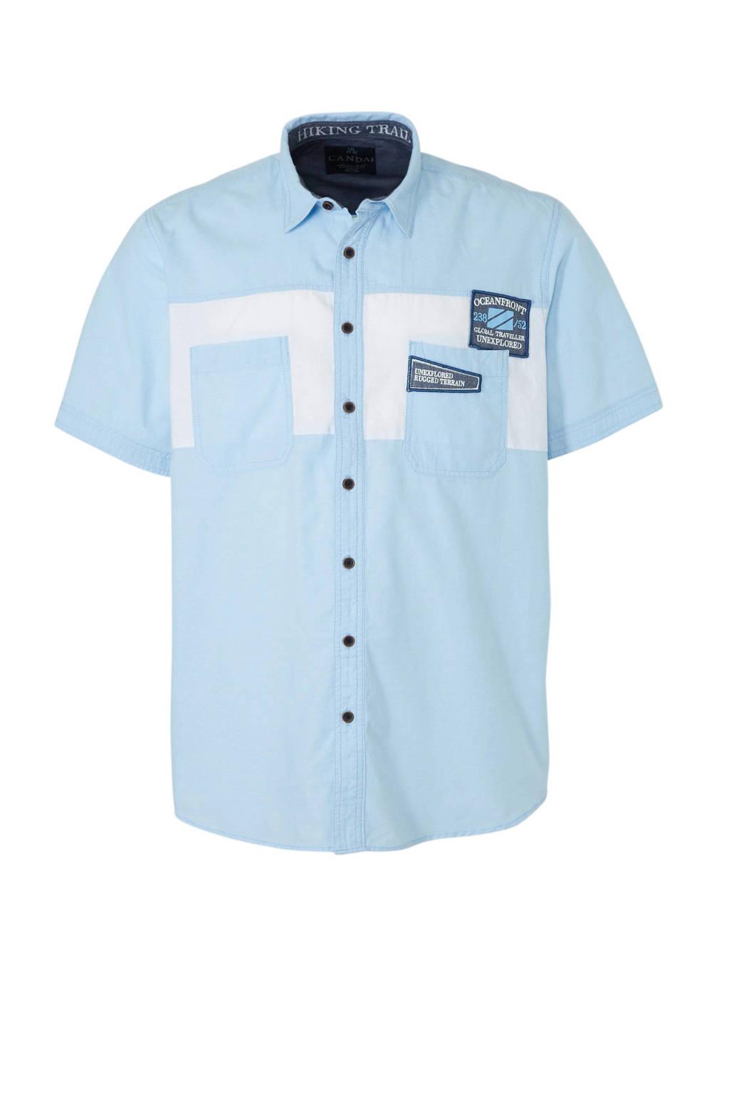 C&A Canda overhemd, Lichtblauw