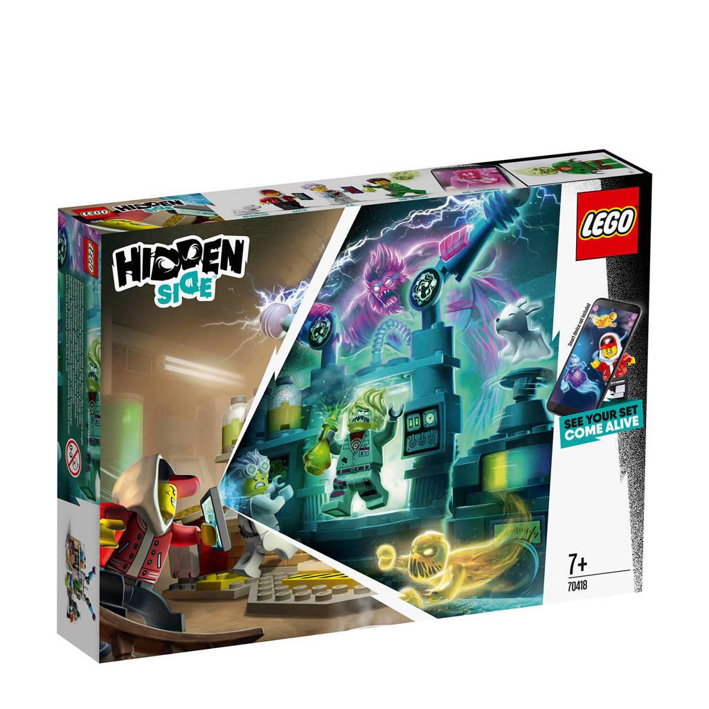 LEGO Hidden Side J.B.'s spooklab 70418