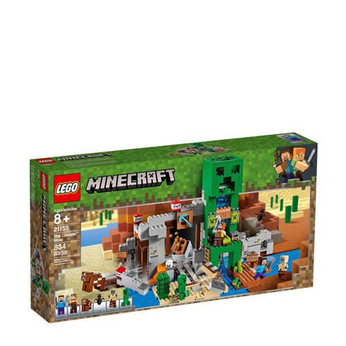 "LEGO Minecraft De Creeperâ""¢ mijn 21155"