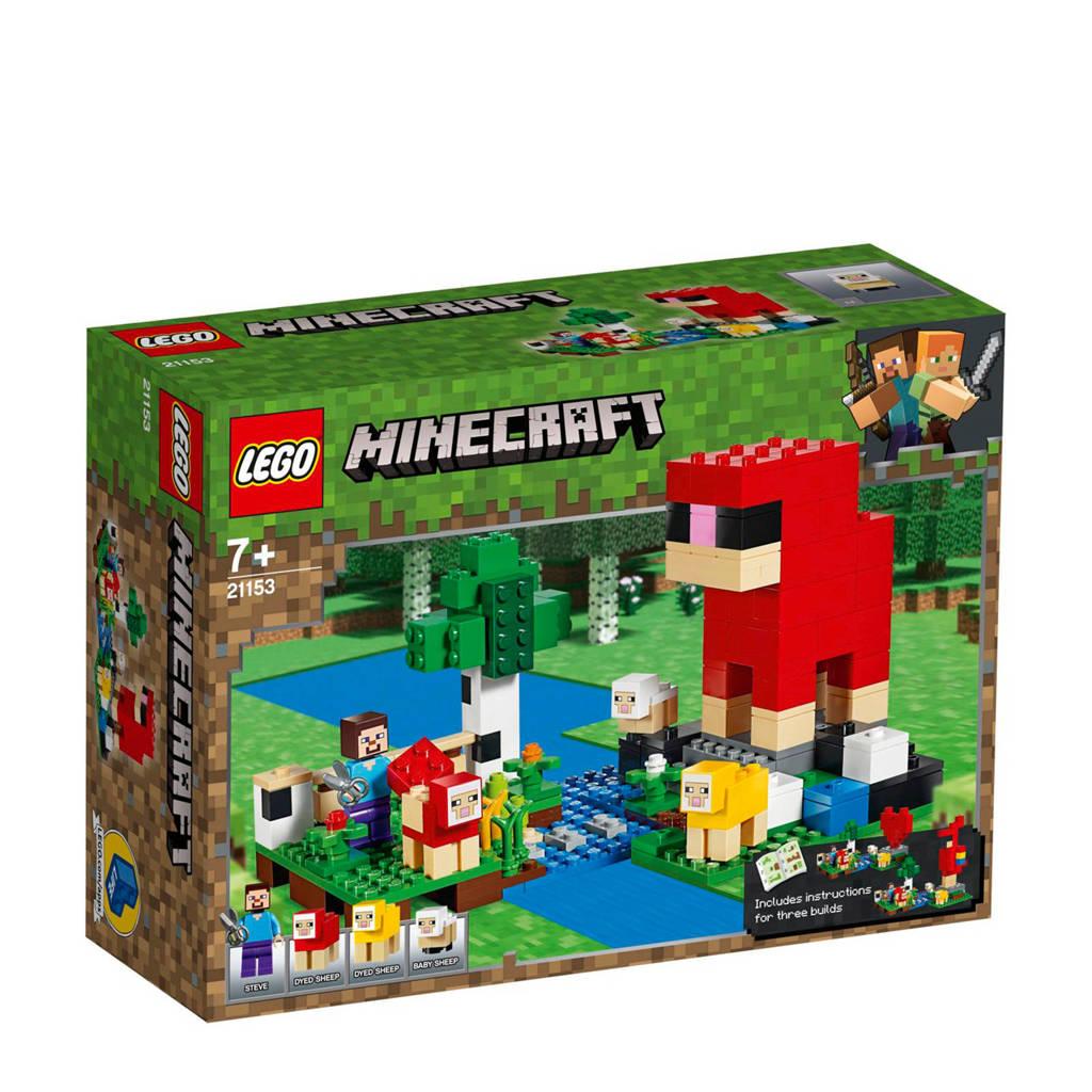 LEGO Minecraft De schapenboerderij 21153