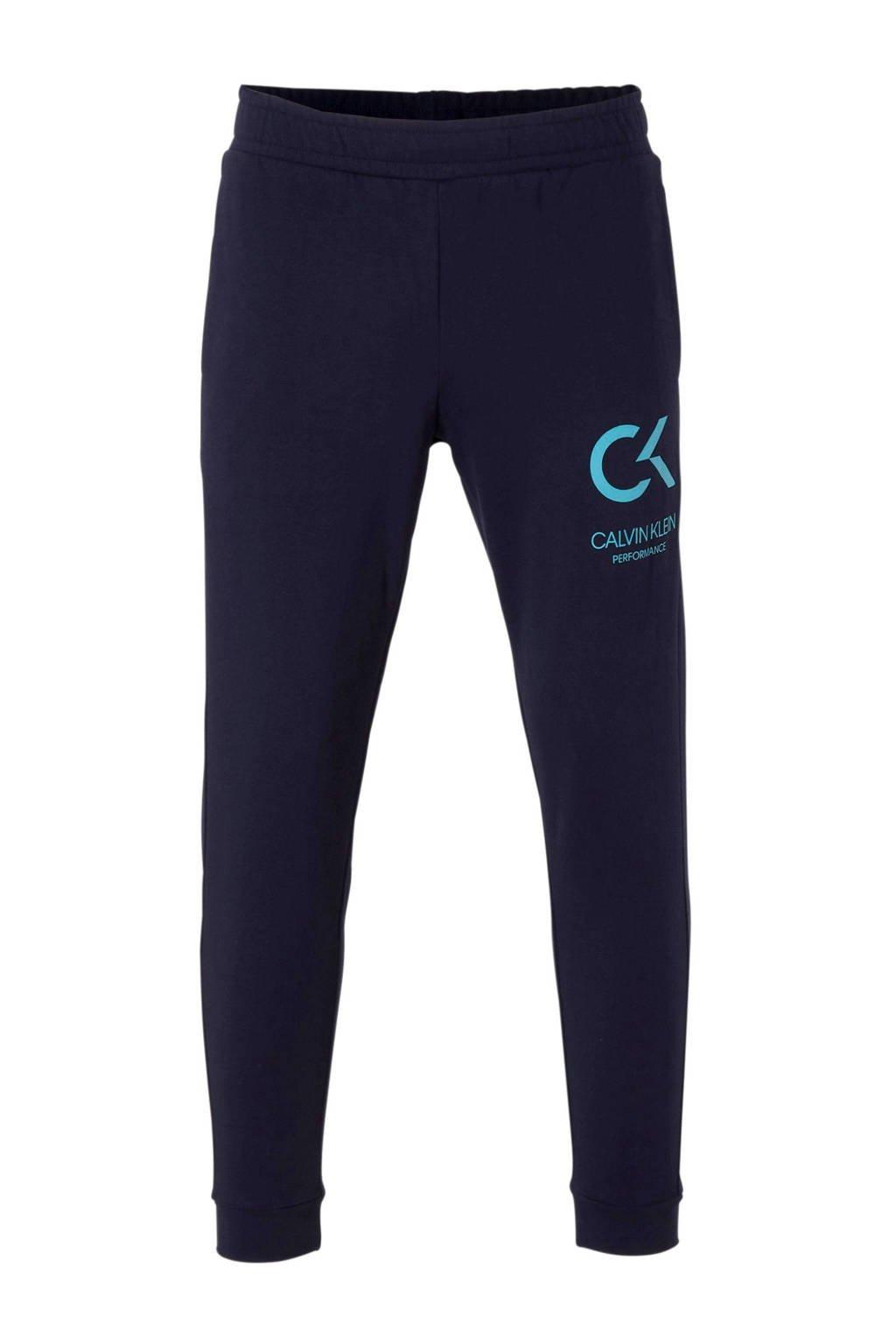CALVIN KLEIN PERFORMANCE   7/8 joggingbroek donkerblauw, Donkerblauw