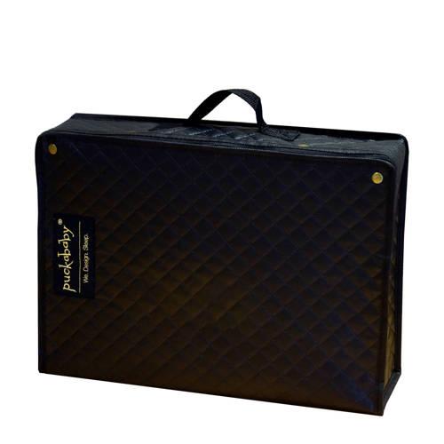 Puckababy Koffertje slaapkoffertje zwart/goud - alleen verkrijgbaar i.c.m. actie