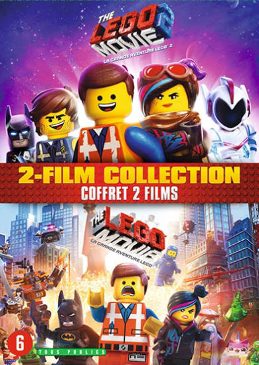 Lego movie 1&2 (DVD)