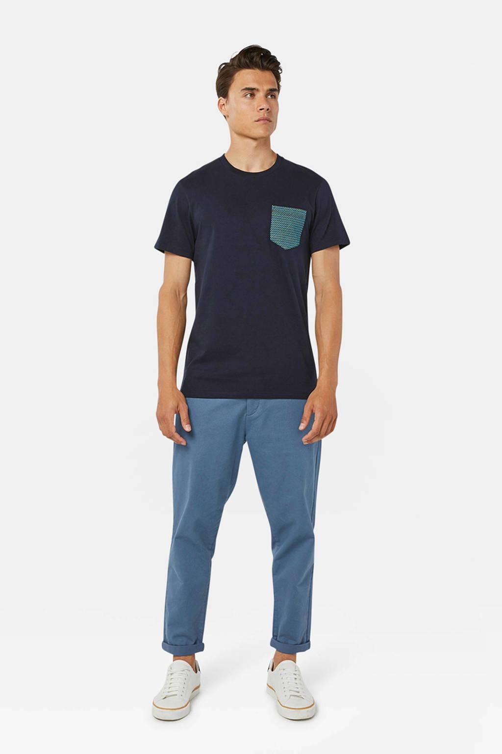 WE Fashion T-shirt marine, Marine