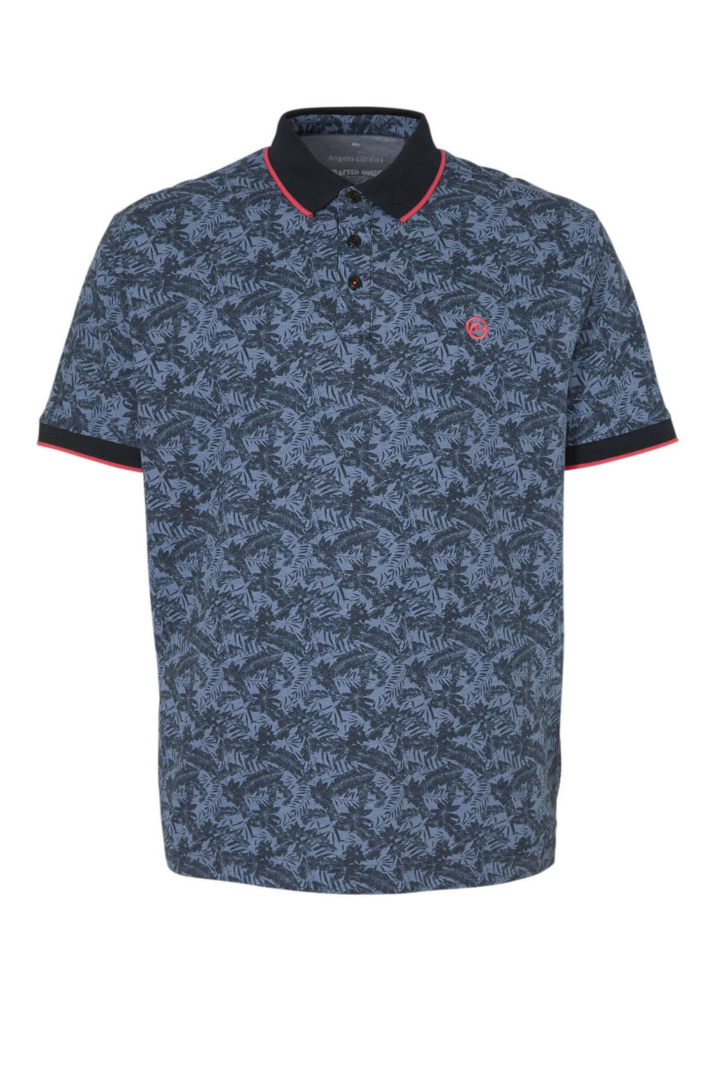 C&A XL Angelo Litrico polo, Donkerblauw