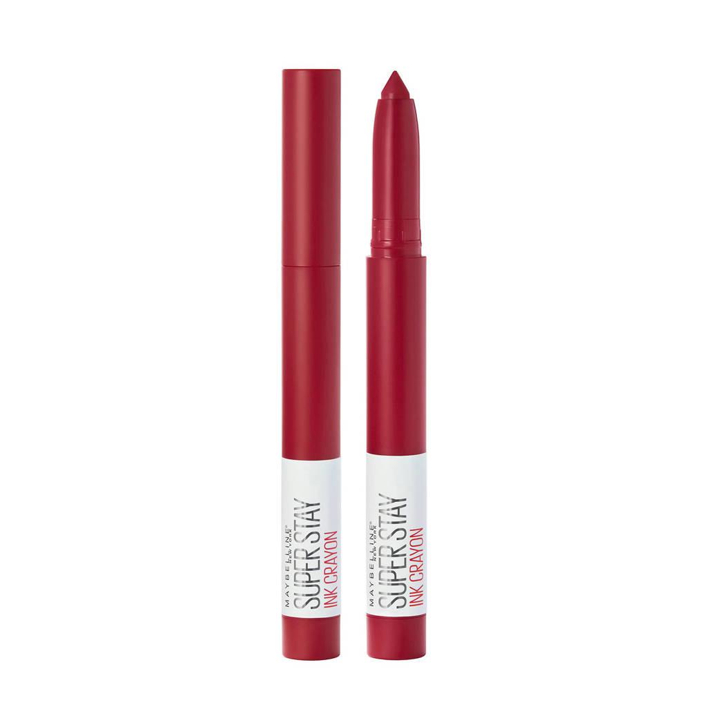 Maybelline Superstay Ink Crayon lippenstift - 45 Hustle In Heels