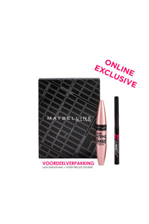 Lash Sensational Mascara & Eyeliner Kit - cadeauset