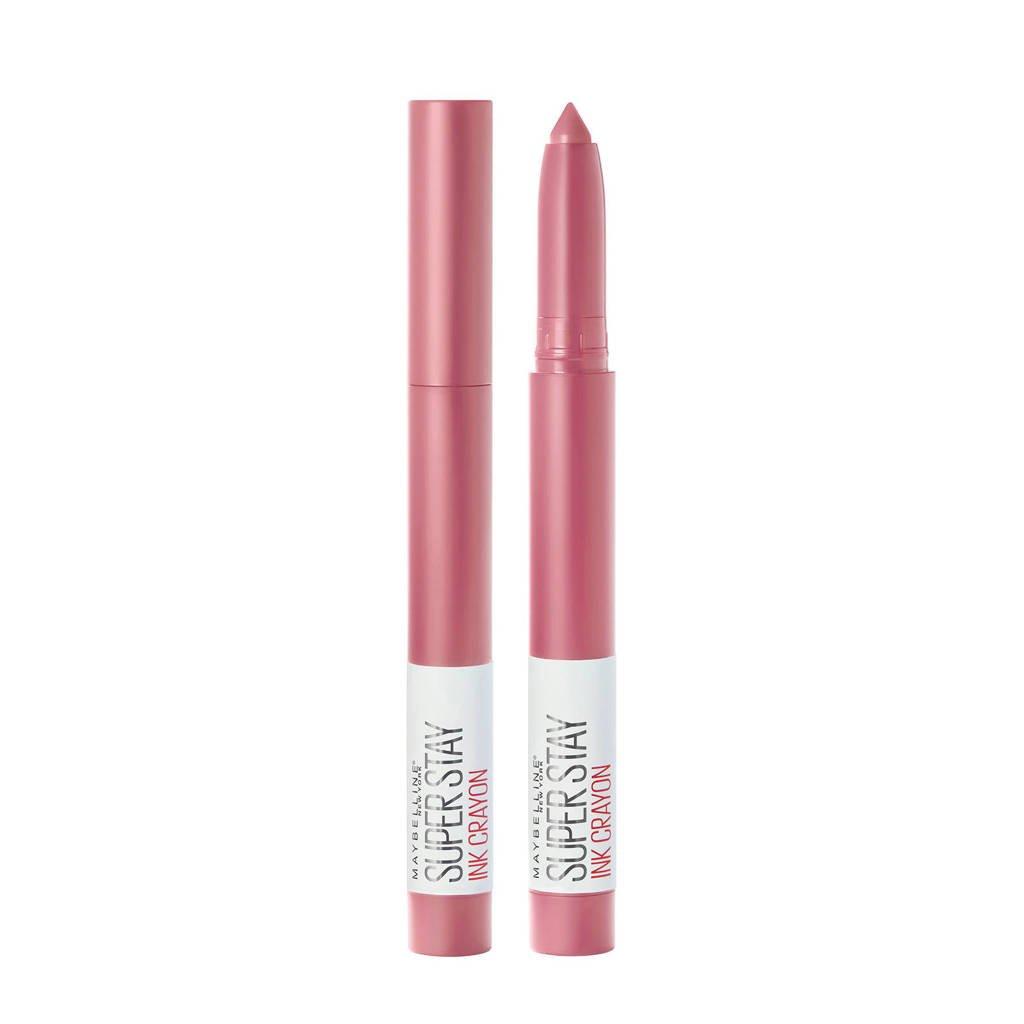 Maybelline New York Superstay Ink Crayons lippenstift - 30 Seek Adventure