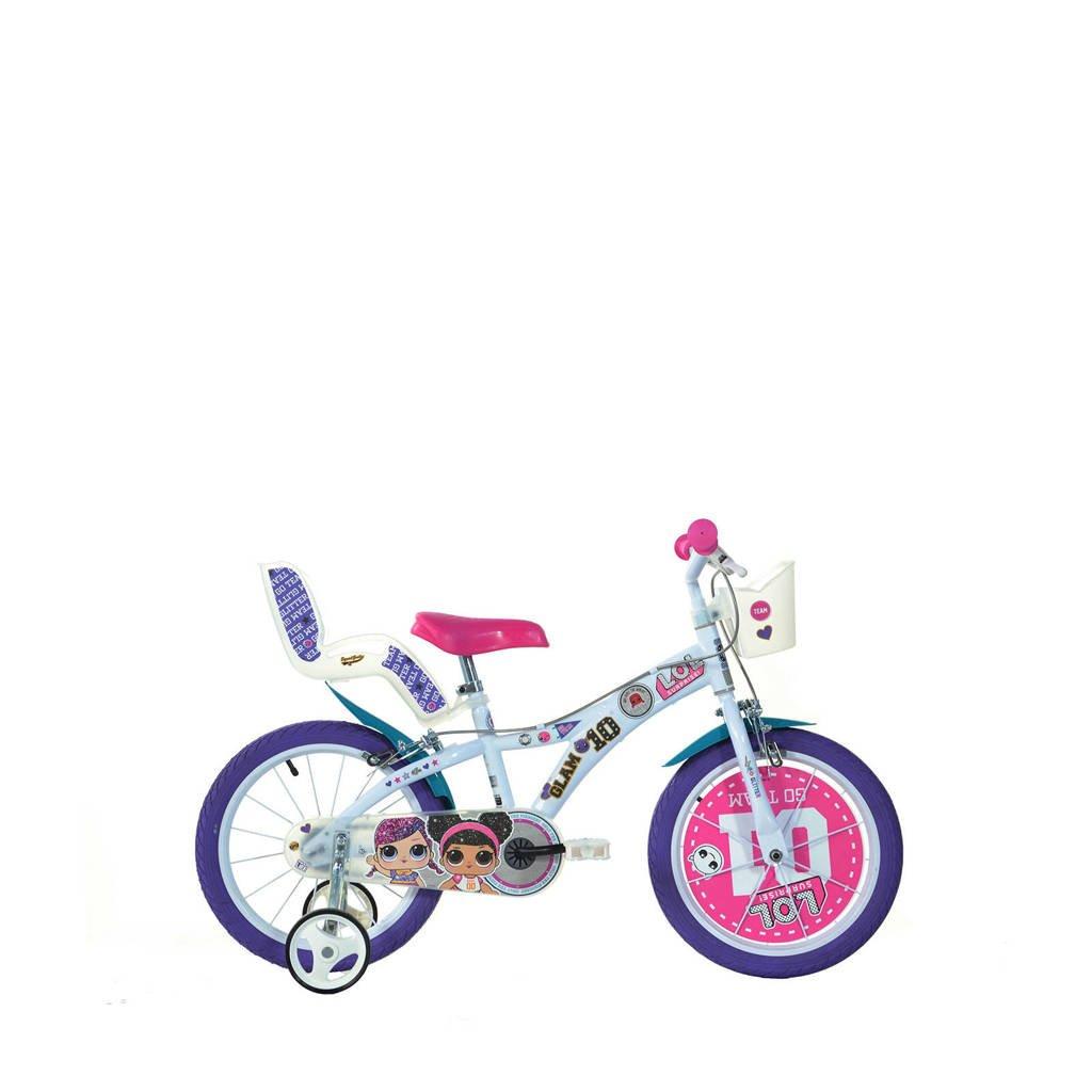 Dino Bikes  L.O.L. Surprise 16 inch (616G-LOL), Roze