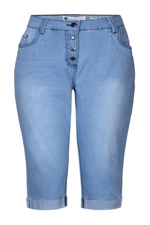 slim fit capri jeans lichtblauw