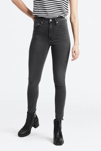 Mile high waist skinny jeans