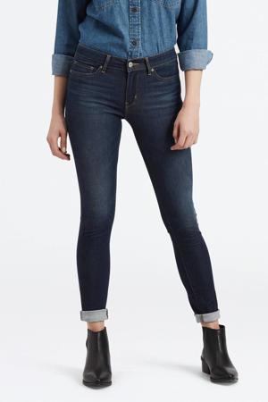 711™ skinny jeans donkerblauw