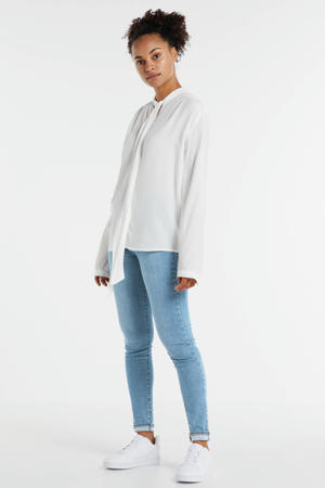 INNOVATION SUPER SKINNY regular waist skinny jeans lichtblauw