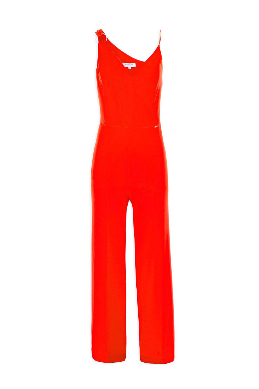 Morgan jumpsuit rood, Rood