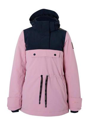 anorak Fireback roze/zwart