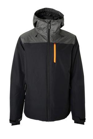 ski-jack Gibson zwart/grijs