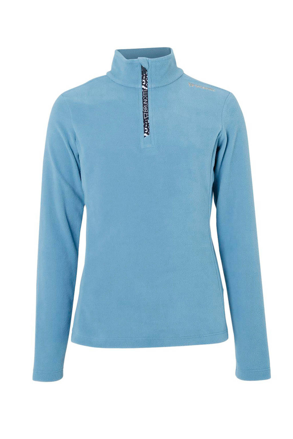 Brunotti fleece skipully Mismy blauw, Blauw