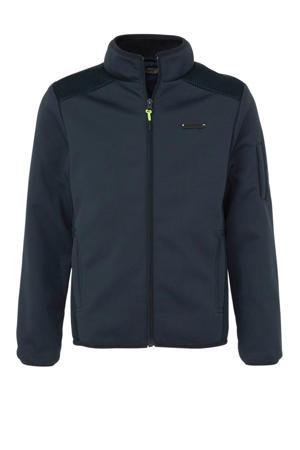 softshell jas donkerblauw