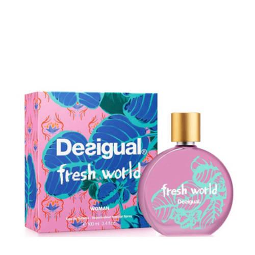 Desigual Fresh World eau de toilette 100 ml