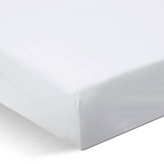 jersey hoeslaken Wit