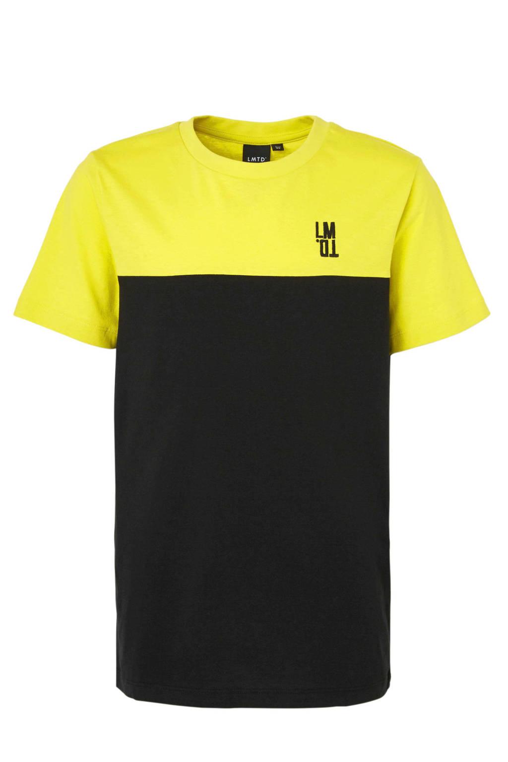 LMTD T-shirt Jose lime, Limegroen/zwart
