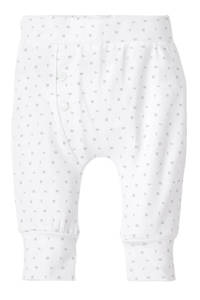 born to be famous. newborn baby broek, Wit
