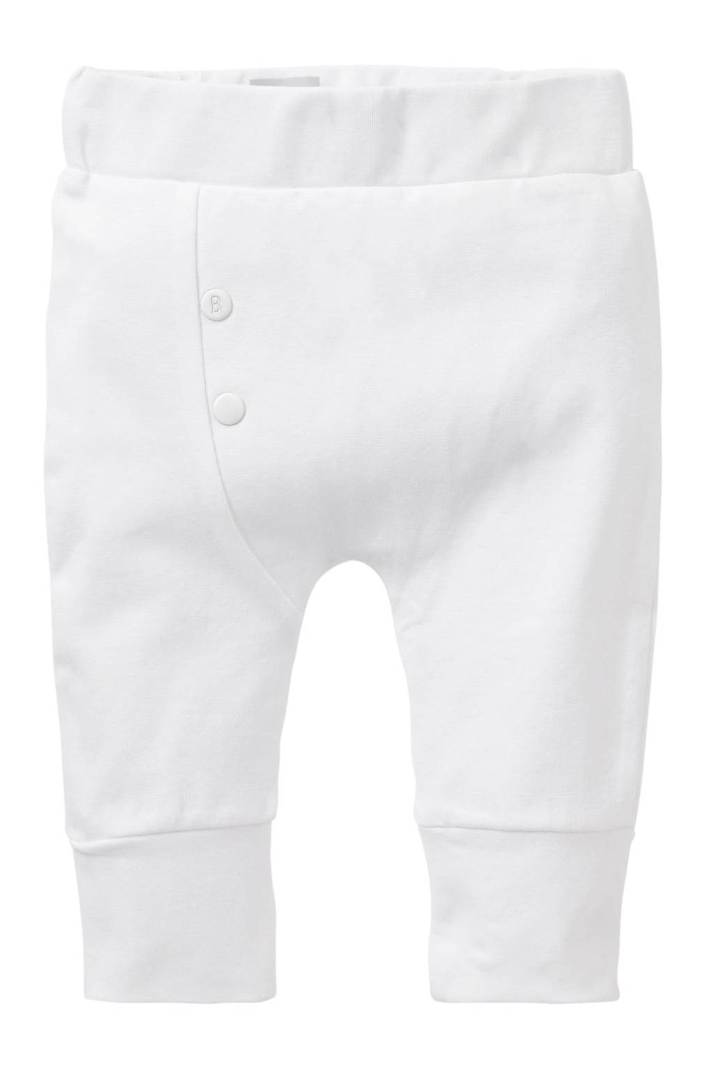 born to be famous. baby newborn broek wit, Wit