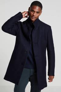 Strellson winterjas donkerblauw, Donkerblauw