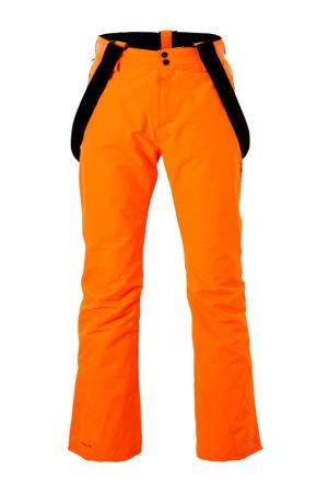 skibroek Footstrap oranje