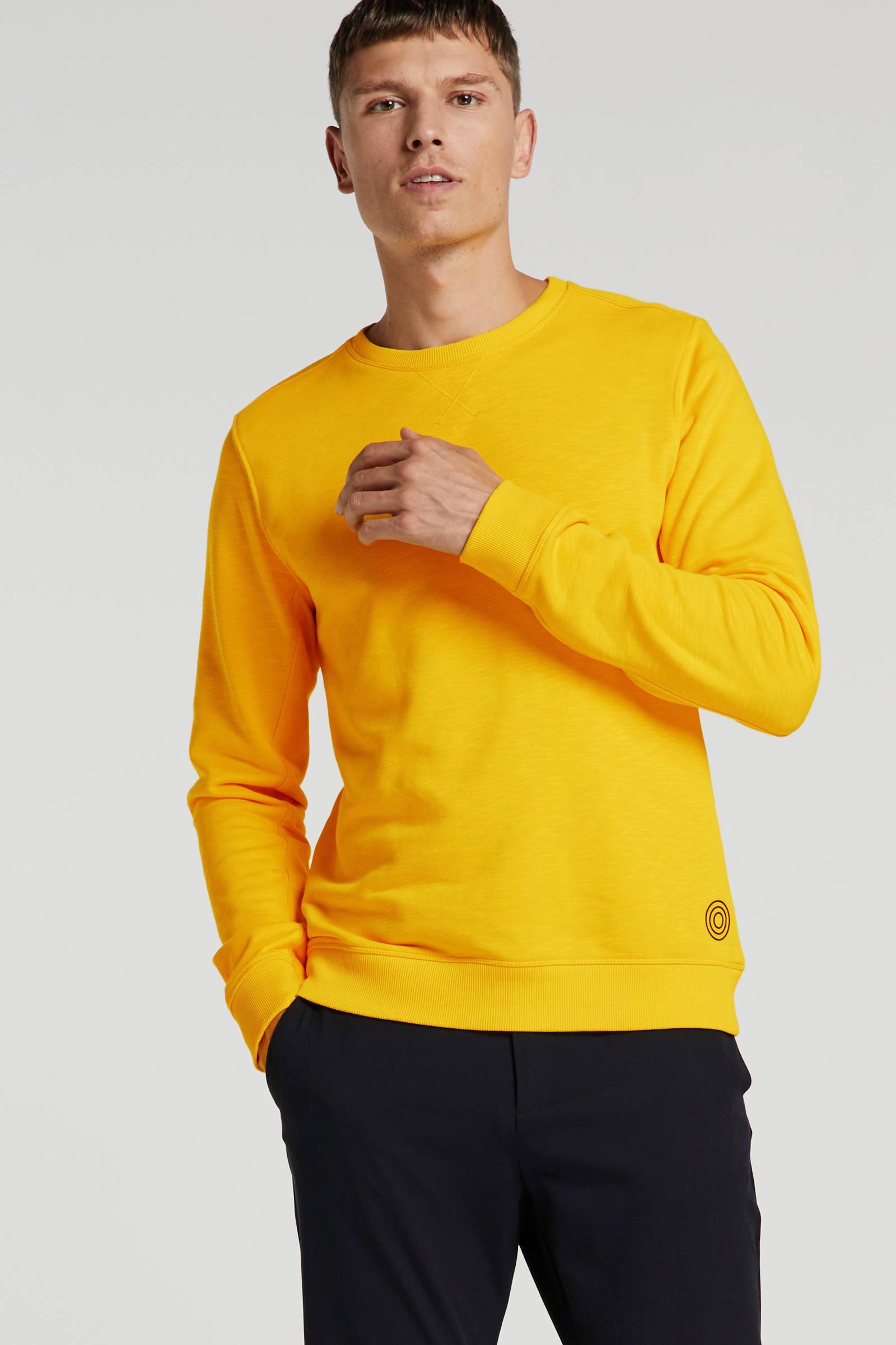 Blue Industry Gemêleerde Sweater Geel s5b0LNao LntntV9J