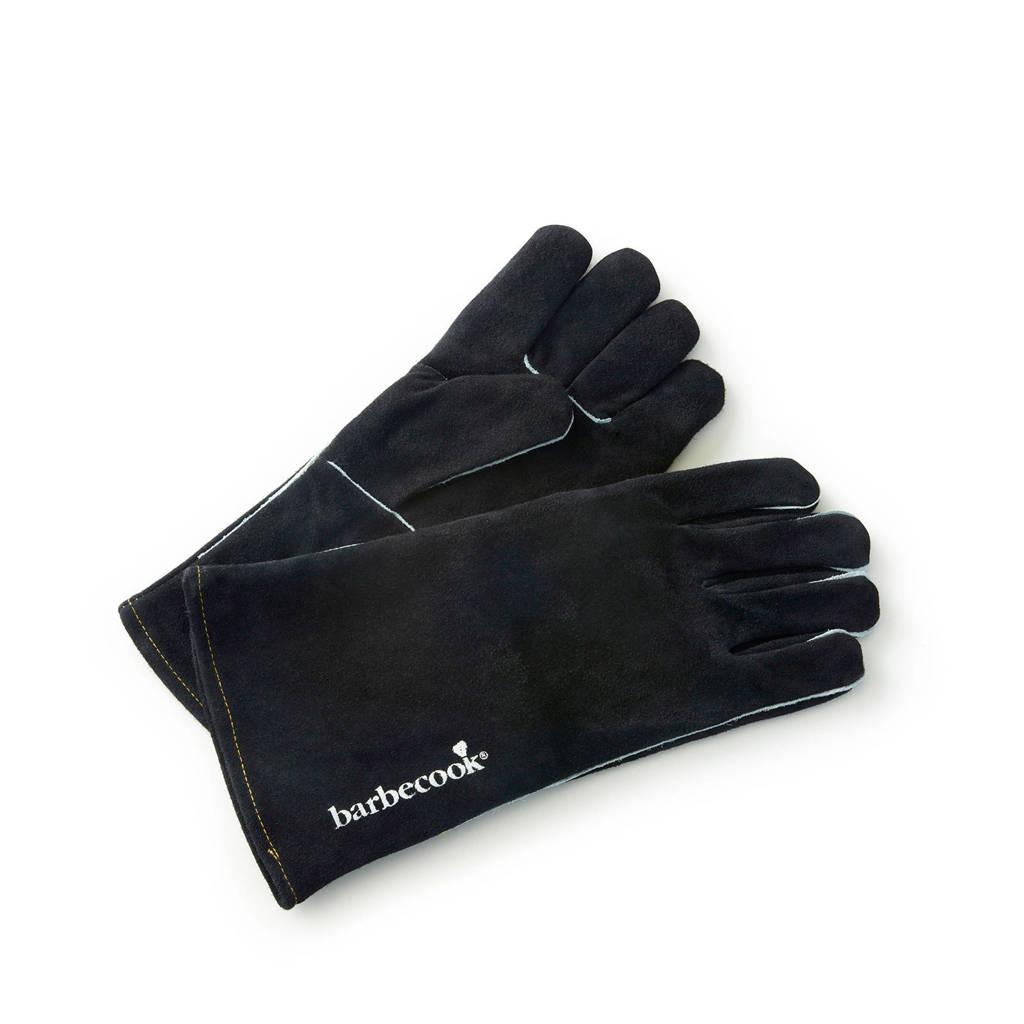 Barbecook barbecue handschoenen nubuck, Zwart