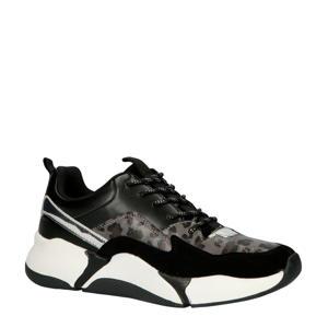 bullboxer  077003F5S sneakers zwart/panterprint