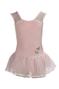 Papillon balletpakje met tule rokje roze, Roze