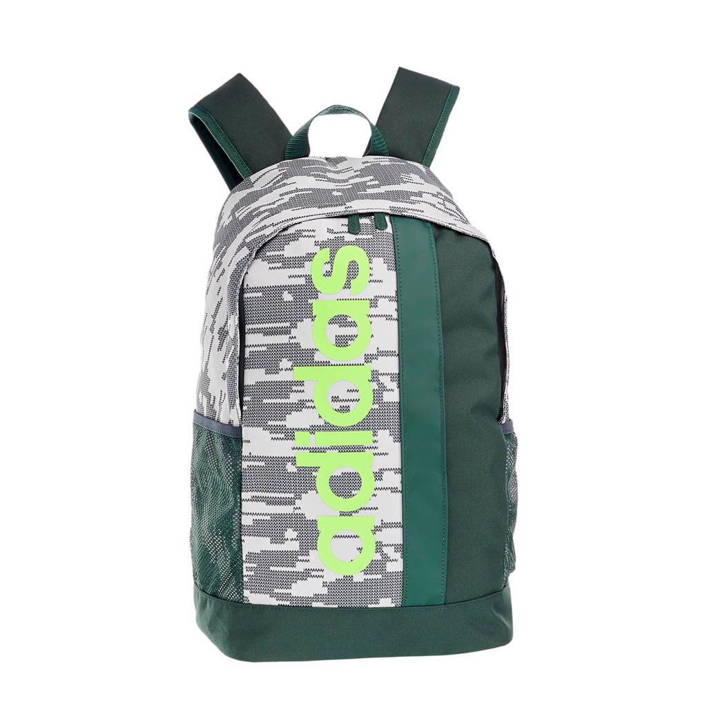 a456aa15897 adidas rugzak groen, Groen/wit/geel