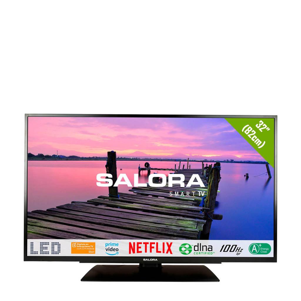 Salora 32FSB2704 Full HD Smart LED tv, Zwart