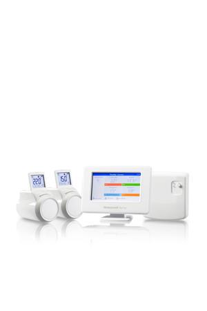 EvoHome console + ketelmodule + radiatorknoppen