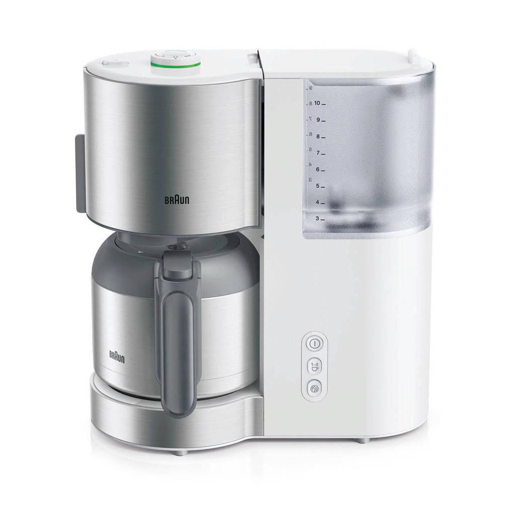 Braun KF5105WH koffiezetapparaat, Wit