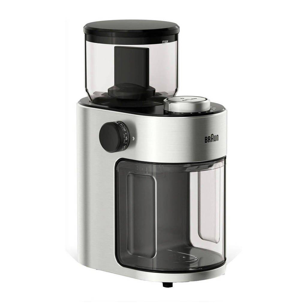 Braun KG7070 koffiemolen, RVS