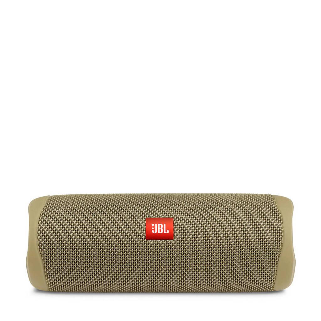 JBL Flip 5  Bluetooth speaker (zwart), Zand