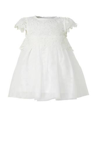 Baby Club jurk met kant wit