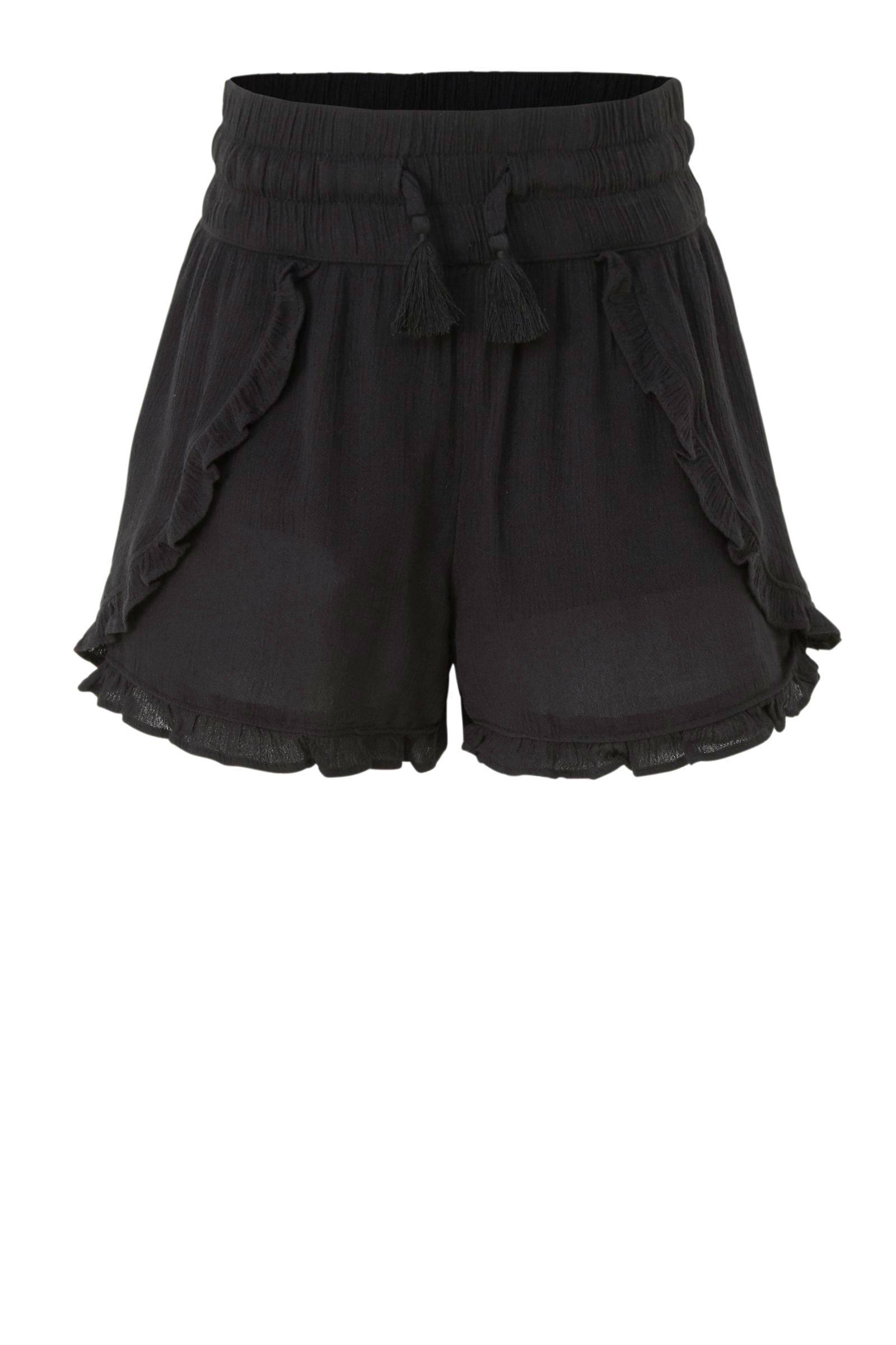 loose fit short zwart