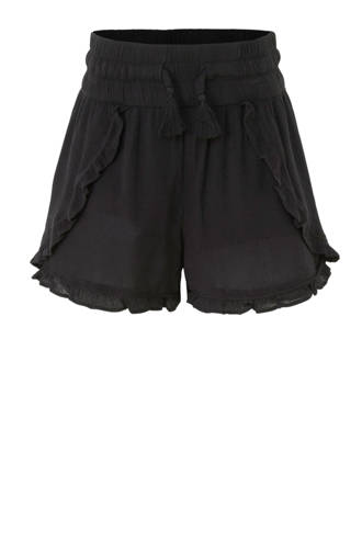 Here & There loose fit short zwart