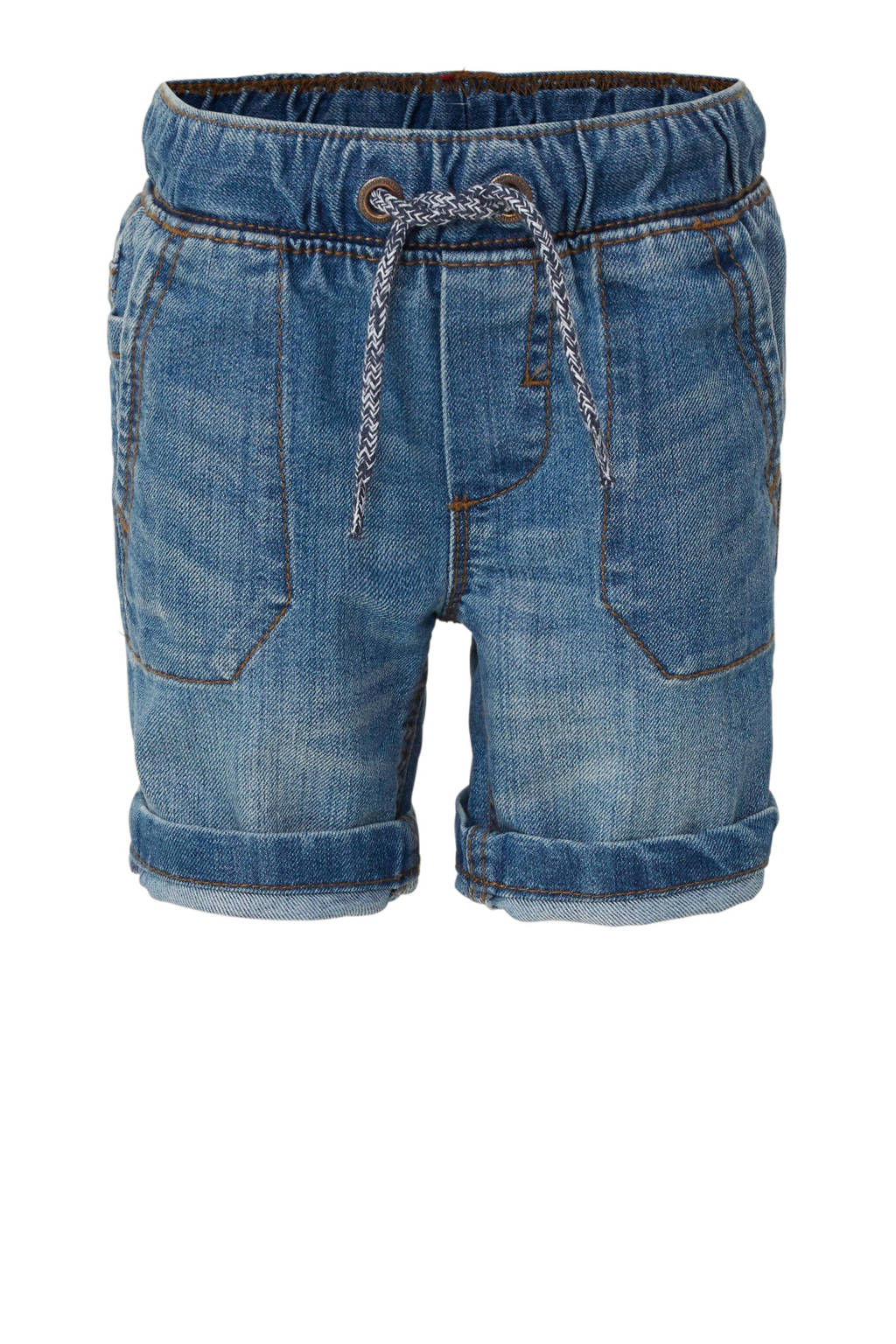 C&A Palomino straight fit jeans bermuda, Stonewashed