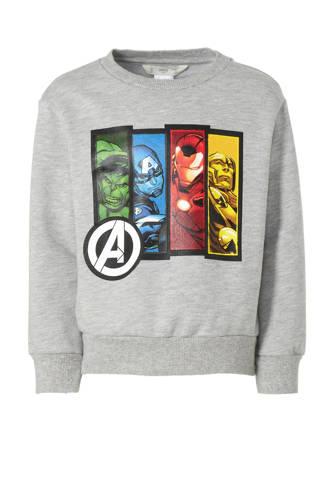 Marvel Avengers sweater grijs