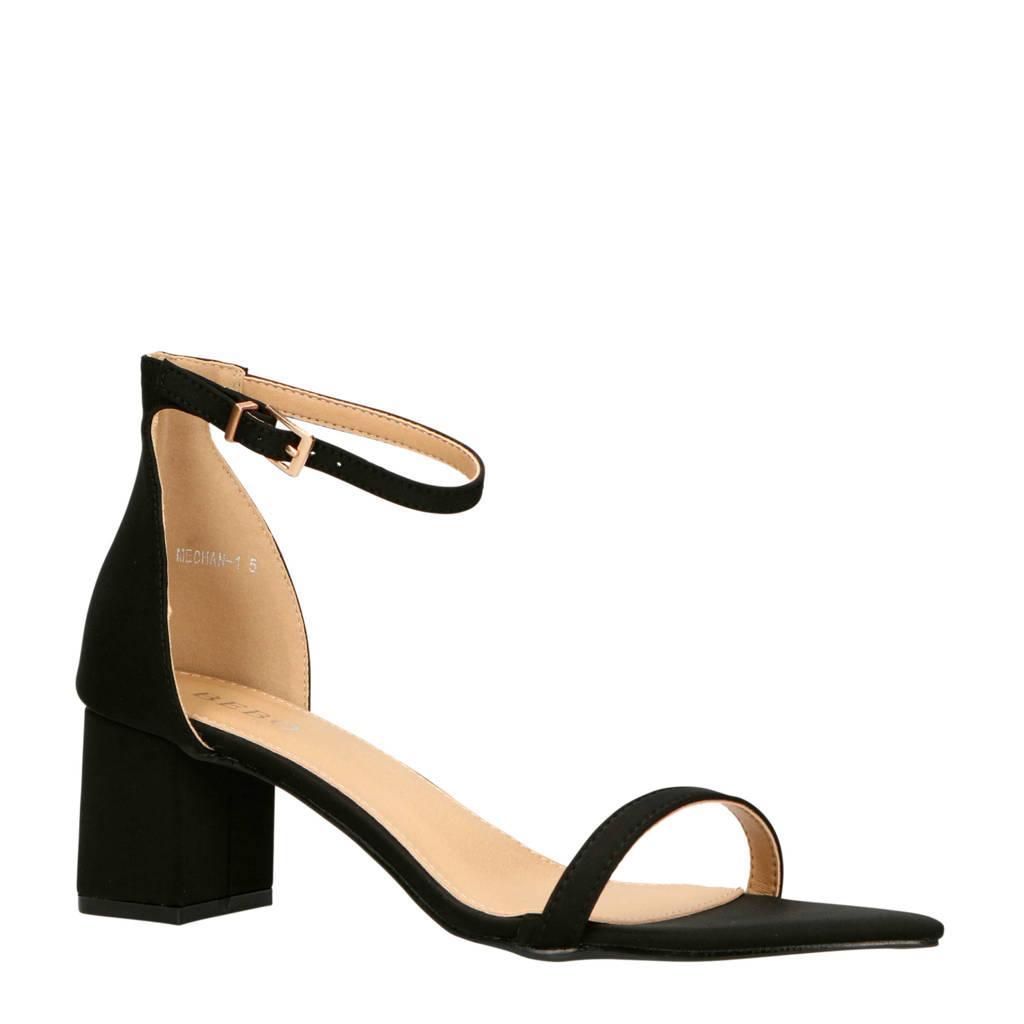 Bebo Meghan sandalettes zwart, Zwart