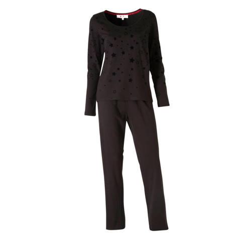 wehkamp pyjama zwart
