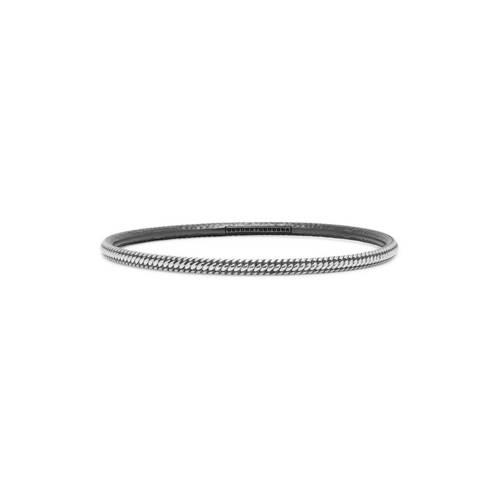 Buddha to Buddha 301 Armband Dunia Ben zilver Maat M (17-19 cm)