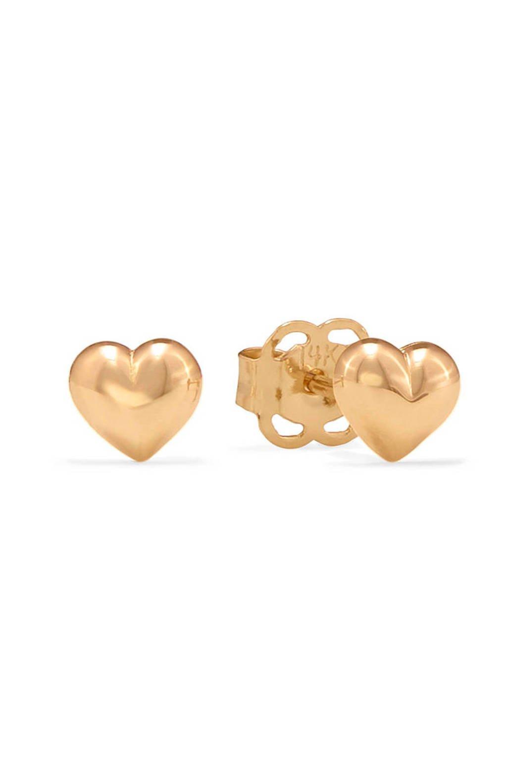 Isabel Bernard Gouden oorbellen IB0101180, Goudkleurig